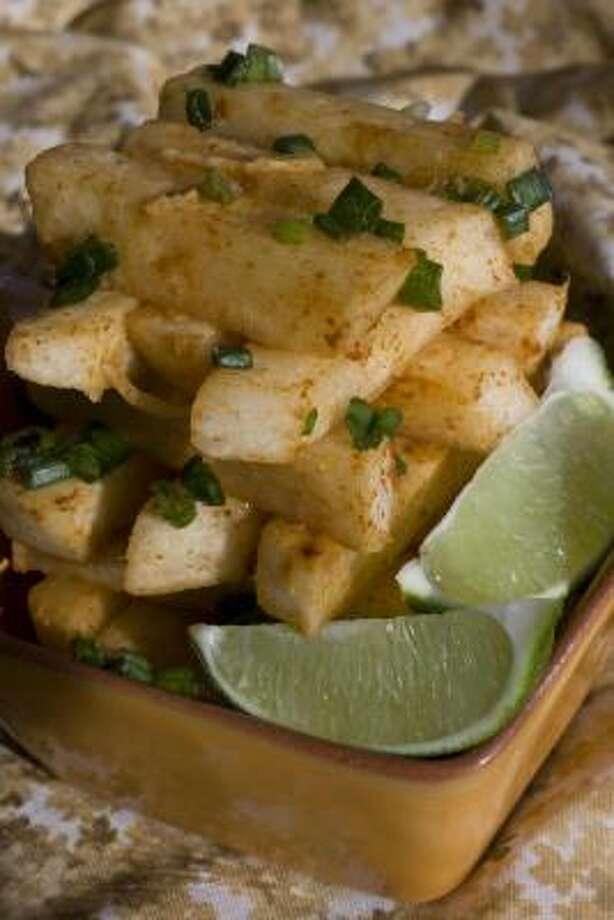 Spicy Jicama Salad Photo: LARRY CROWE PHOTOS :, ASSOCIATED PRESS