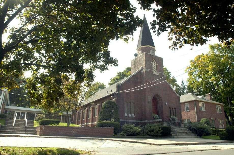 St.Paul's Lutheran Church, Spring St, Danbury, Ct. Photo taken Oct 1, 1008 by Carol Kaliff Photo: Carol Kaliff / The News-Times