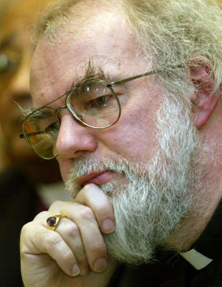 Rowan Williams Photo: PETER MORRISON, AP File