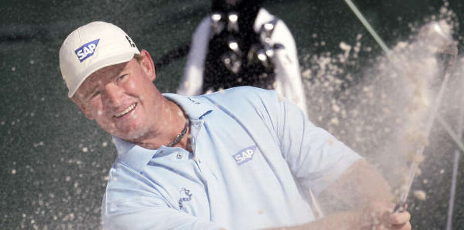 Ernie Els hopes to end the season with a win at the Tour Championship. Photo: JOHN BAZEMORE, AP