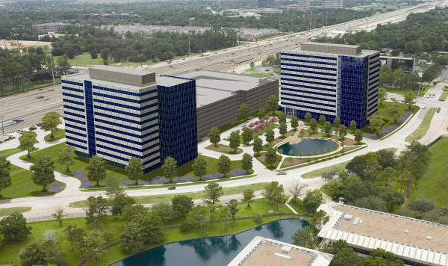 Trammell Crow is developing this project in the Energy Corridor along I-10 in west Houston. Photo: TRAMMELL CROW CO.