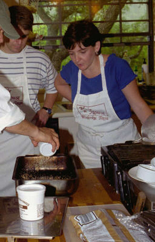 Cooking classes are popular at the Blair House Inn. Photo: Harry Shattuck, Chronicle