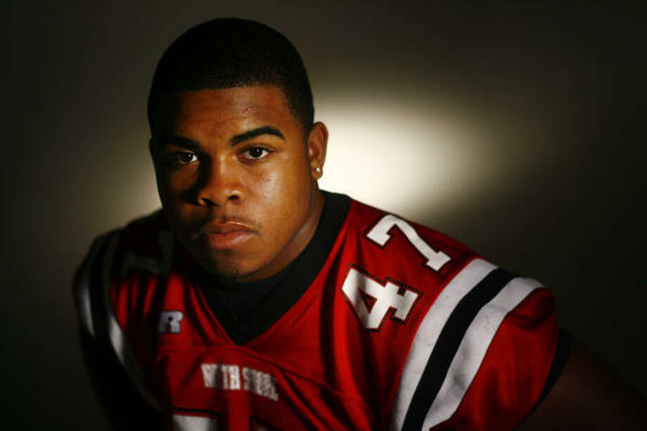 All-Greater Houston Defensive Player of the Year:Marcus Jones, Senior, North Shore Photo: Steve Ueckert, Chronicle