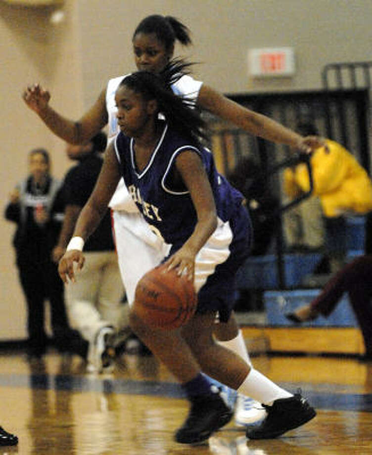 Wheatley sophomore Danyell Hamm will lead the Wildcats against Sterling on Friday. Photo: Kim Christensen, For The Chronicle
