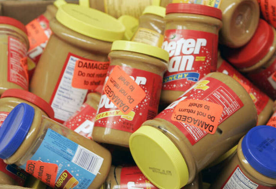 The FDA acted after the Centers for Disease Control and Prevention noted a possible salmonella source in peanut butter. Photo: JOHN BAZEMORE, AP File