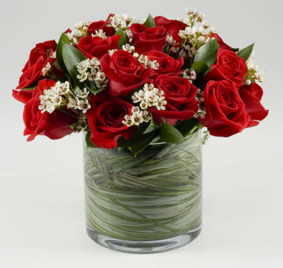Make your Valentine's Day flowers stay fresh longer. Photo: Buster Dean, Chronicle