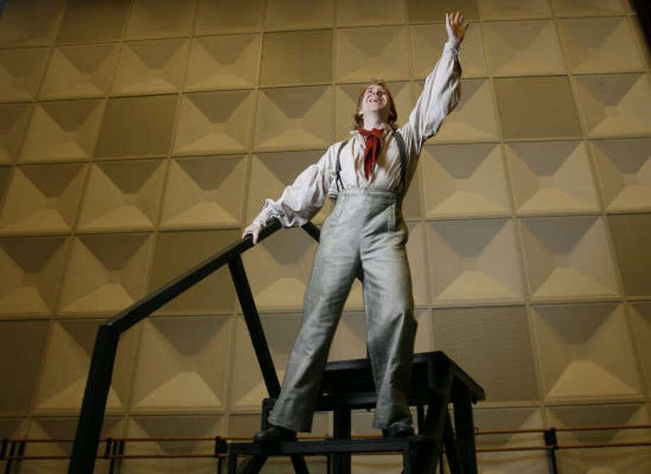 Baritone Daniel Belcher, who sings title role of Billy Budd for Houston Grand Opera's production. Photo: Karen Warren, Chronicle