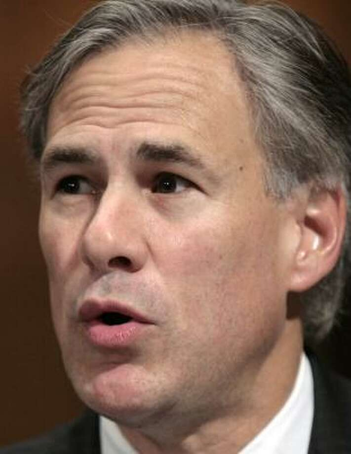 "Texas Attorney General Greg Abbott told a Senate panel that reining in polygamist sects is ""a big challenge."" Photo: ANDREW COUNCILL, MCT"