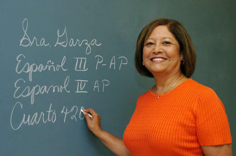 Este año fue distinguida por la Fundación de la Herencia Hispana como la profesora del año en EE. UU. Photo: Kirk Sides, Para La Voz