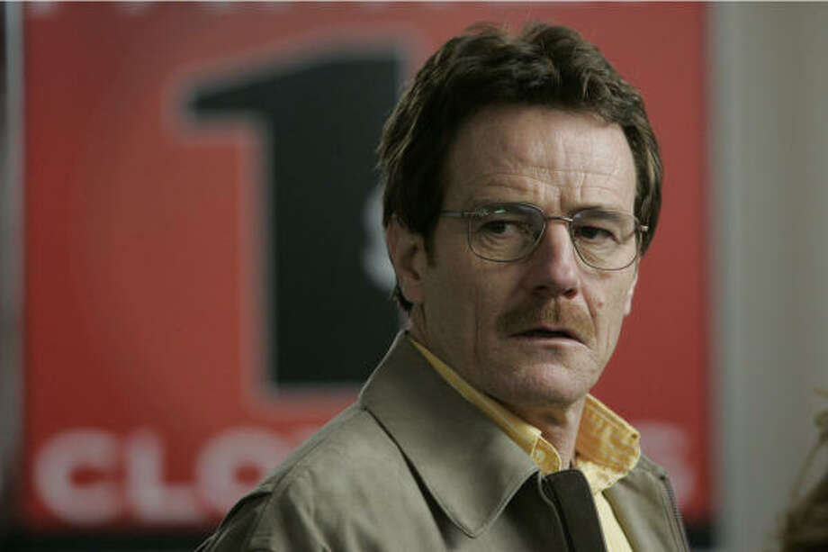 A high school chemistry teacher (Bryan Cranston)  starts a meth lab to earn money in AMC's Breaking Bad. Photo: PR NEWSWIRE