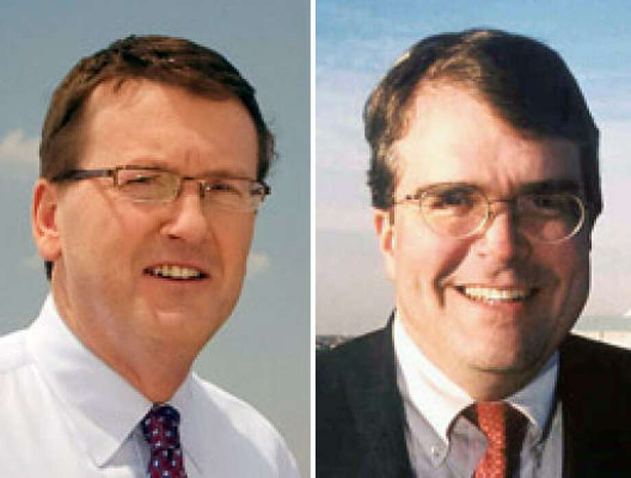 Michael Skelly, left, and John Culberson are competing for the 7th Congressional District seat. Photo: For The Chronicle