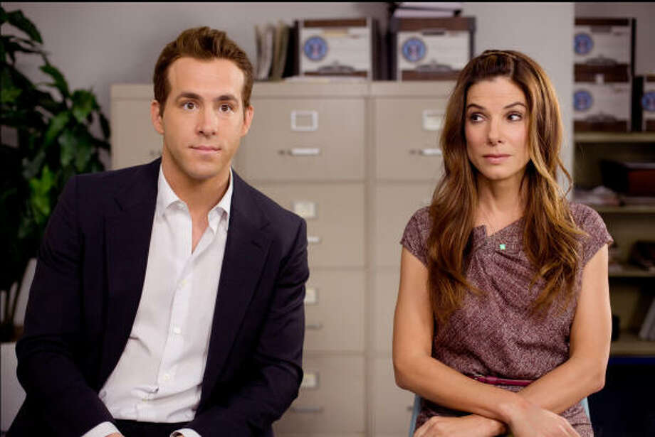 Ryan Reynolds and Sandra Bullock star in The Proposal. Photo: Sam Emerson
