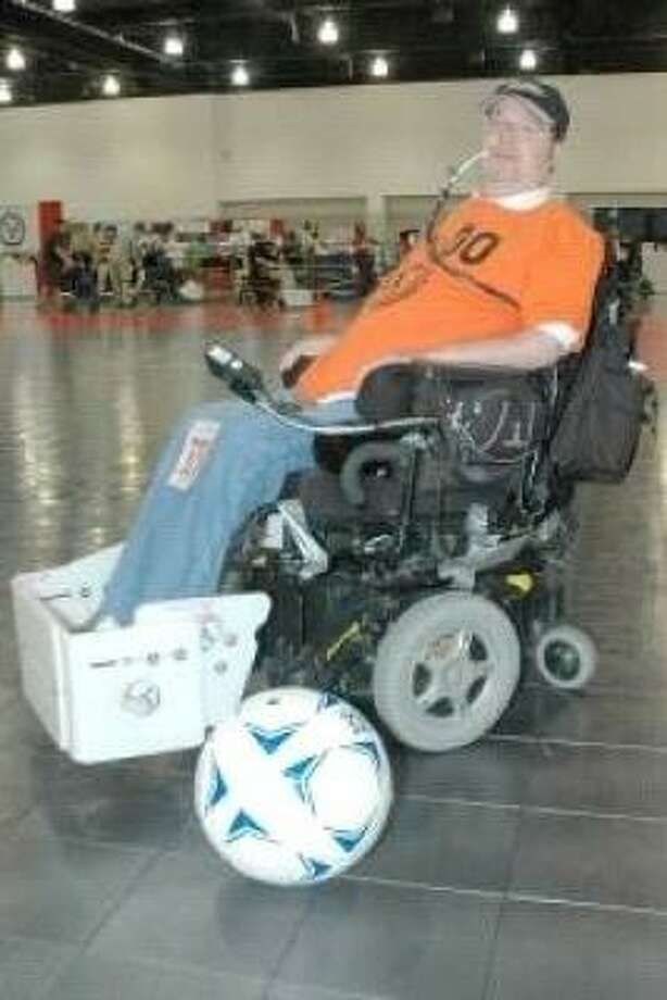 U.S. Army veteran, David Fowler, has been competing in the National Veterans Wheelchair Games since 1991. Photo: Special To Chronicle