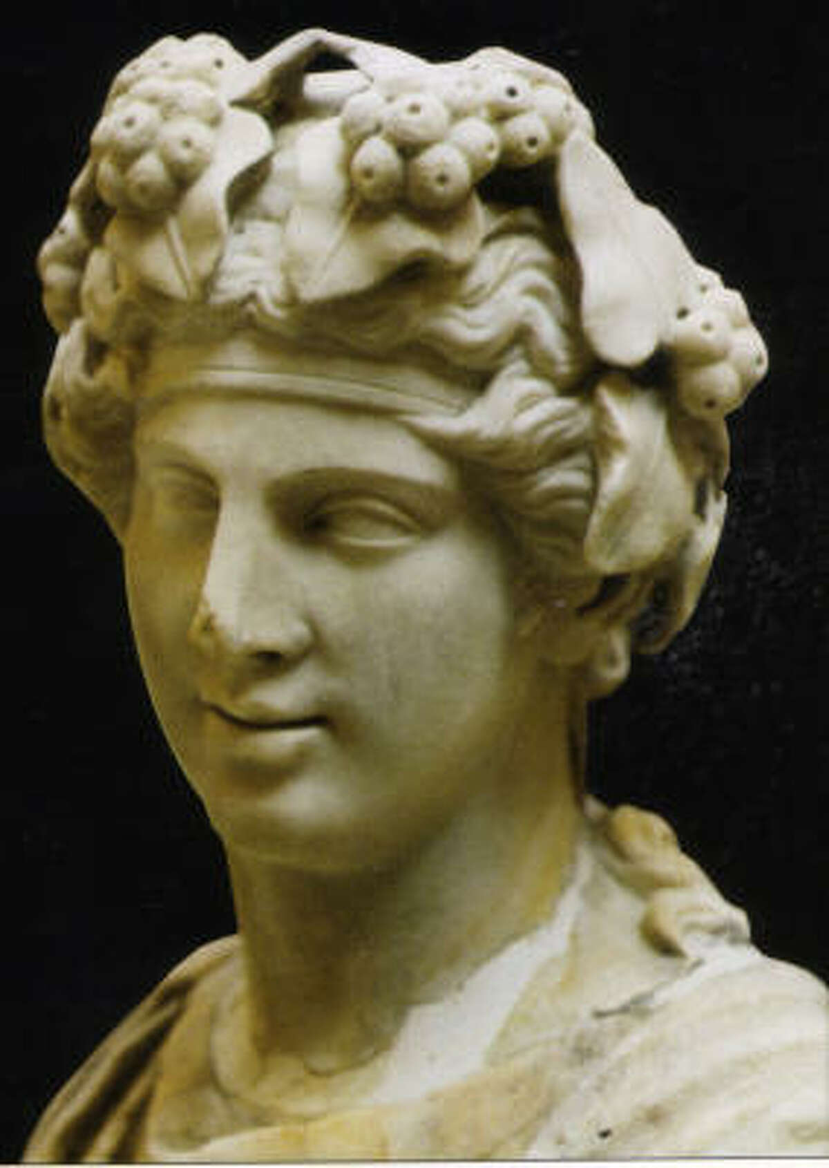 Imperial Rome's gods and goddesses were a blend of religious influences, and many were introduced from the Greek colonies of southern Italy. Bacchus, the god of wine, was one of these.