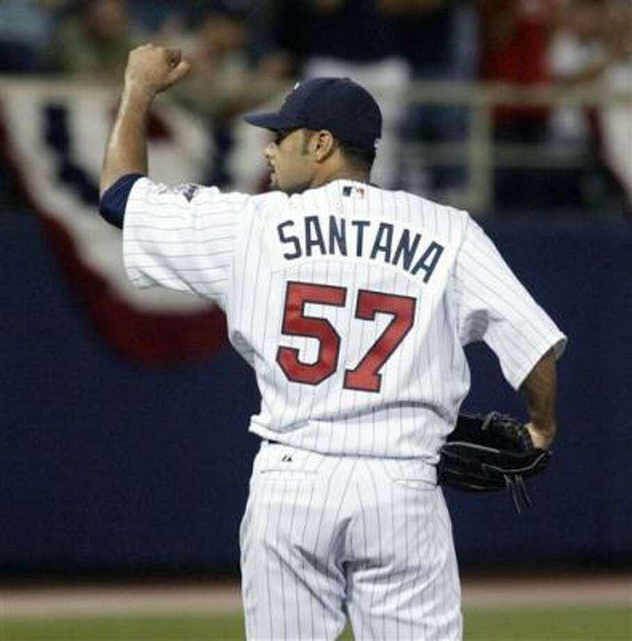 Since 2003, Johan Santana is 20-2 with a 1.85 ERA in 28 August starts. Photo: Paul Battaglia, AP