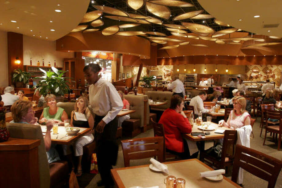 Cafe Bistro inside Nordstrom's at the Galleria offers customers a place to take a break from shopping. Photo: Bill Olive, Chronicle