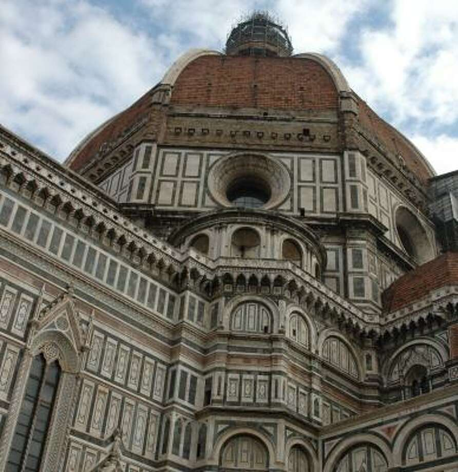 The Duomo, an architectural landmark, dominates the center of Florence, Italy. Photo: HARRY SHATTUCK, CHRONICLE