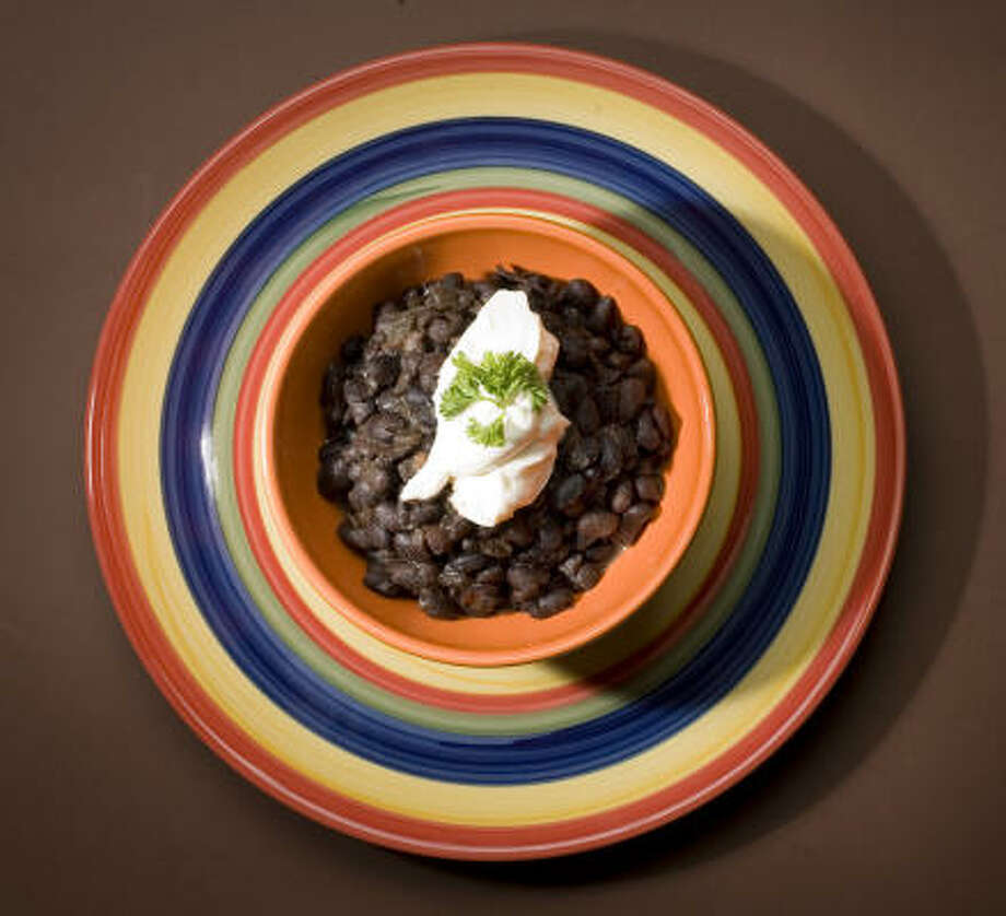 Baked Black Beans Photo: Buster Dean, Chronicle