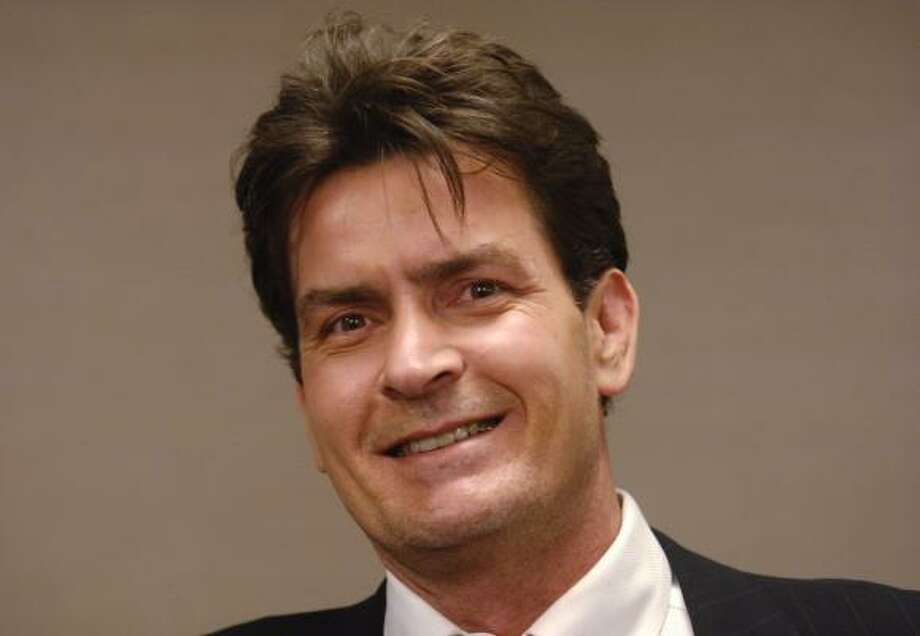 Charlie Sheen Photo: PHIL MCCARTEN:, ASSOCIATED PRESS