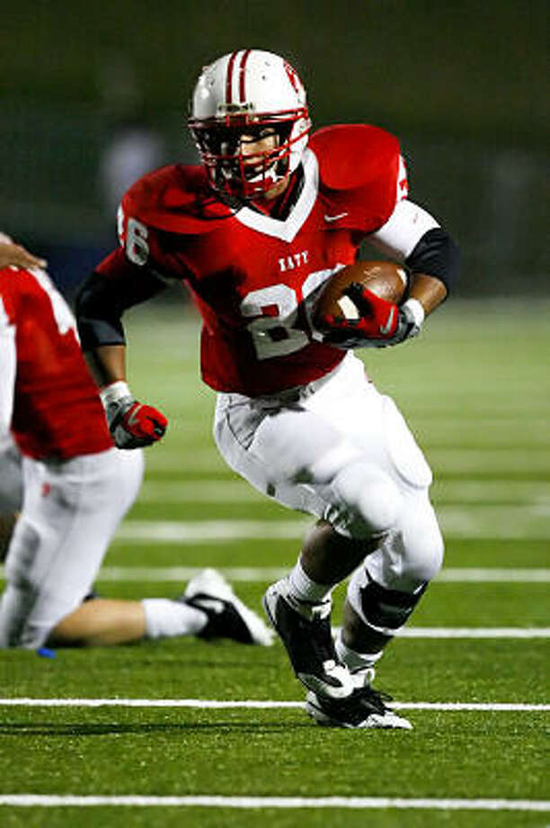 Michael Webber has brought consistency to a tumultous running back situation at Katy. Photo: Diana L. Porter, For The Chronicle
