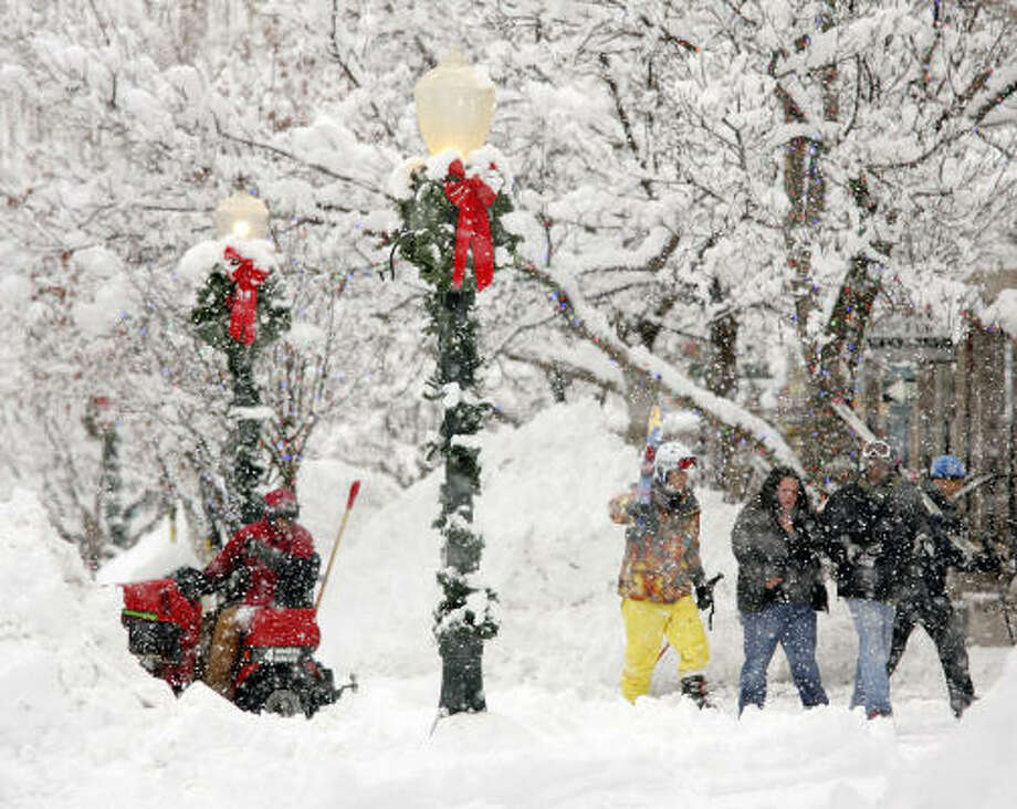 No. 1: Aspen, Colo. Photo: Nathan Bilow, AP
