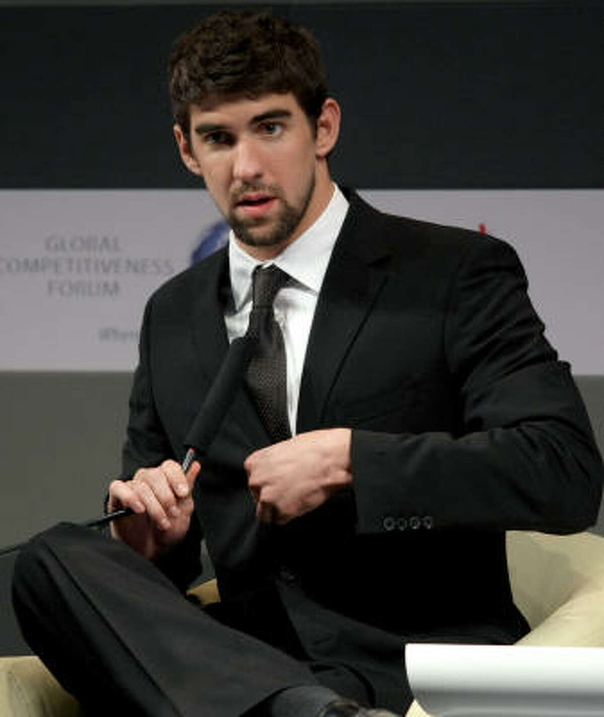 Michael Phelps landed in hot water after a photo of him apparently smoking marijuana was published in a tabloid.