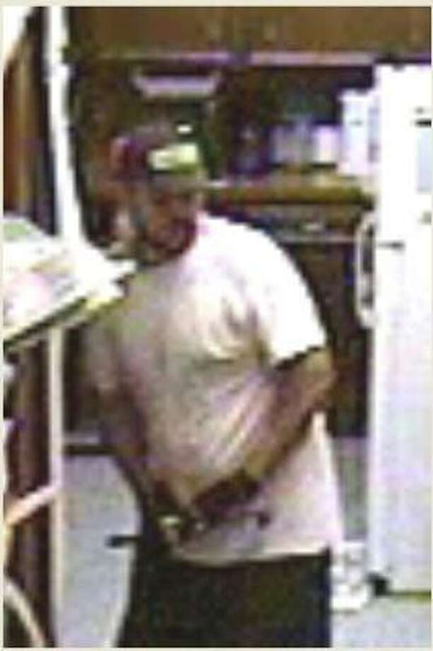 Authorities are searching for this man, suspected of burglarizing a northwest Harris County animal clinic earlier this month, and possibly other businesses in the area. Photo: Surveillance Photo