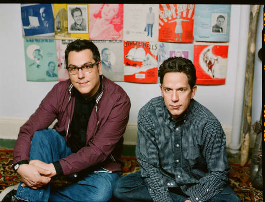 John Flansburgh and John Linnell, who formed They Might Be Giants 25 years ago, aren't afraid of challenges, whether they're lyrical or technological. Photo: Idlewild Recordings