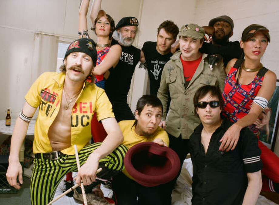 Gogol Bordello will perform at Meridian on March 18. Photo: Lauren Dukoff