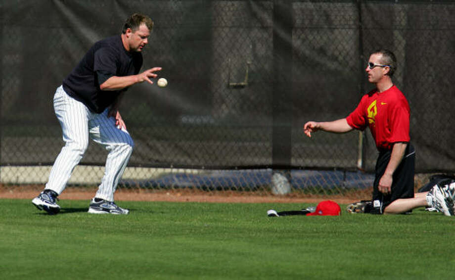 Roger Clemens has sued his former trainer Brian McNamee over steroid allegations. Photo: STEVEN SENNE, AP