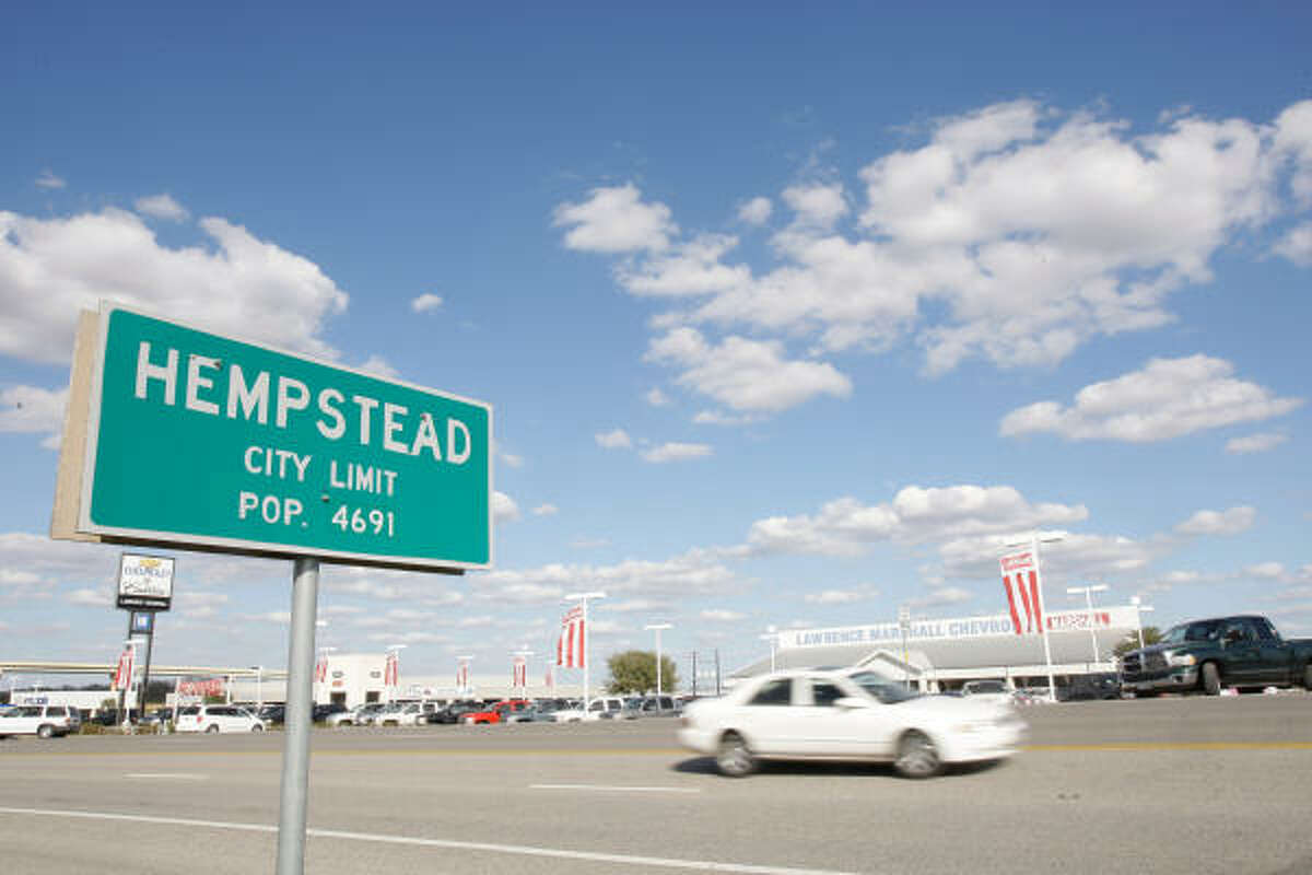 A more recent count put Hempstead's population at around 7,000 and gave a strong indication of a growing community, but the loss of Waller County's biggest employer is sending ripples throughout the fabric of the town and surrounding area.