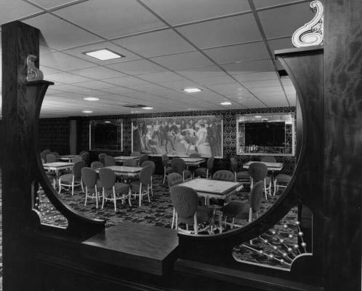 A sneak peak into the 1965 view of the Astrodome Club, one of the plushest rooms under the Dome, com