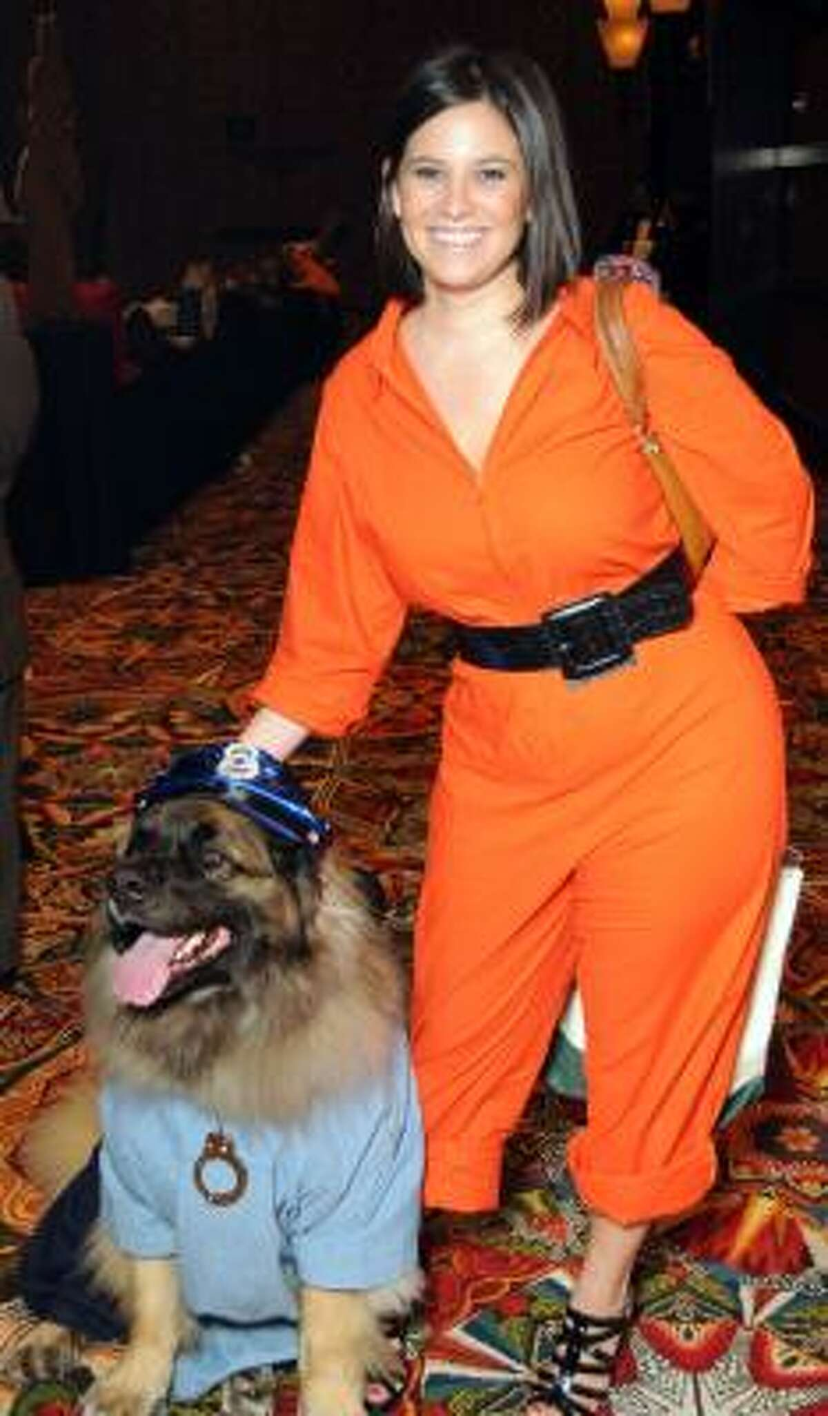 Noell Myska with Chewbacca