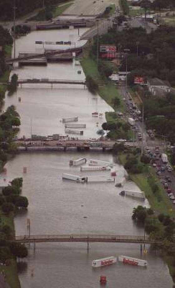Photos Of Tropical Storm Allison Houston Chronicle