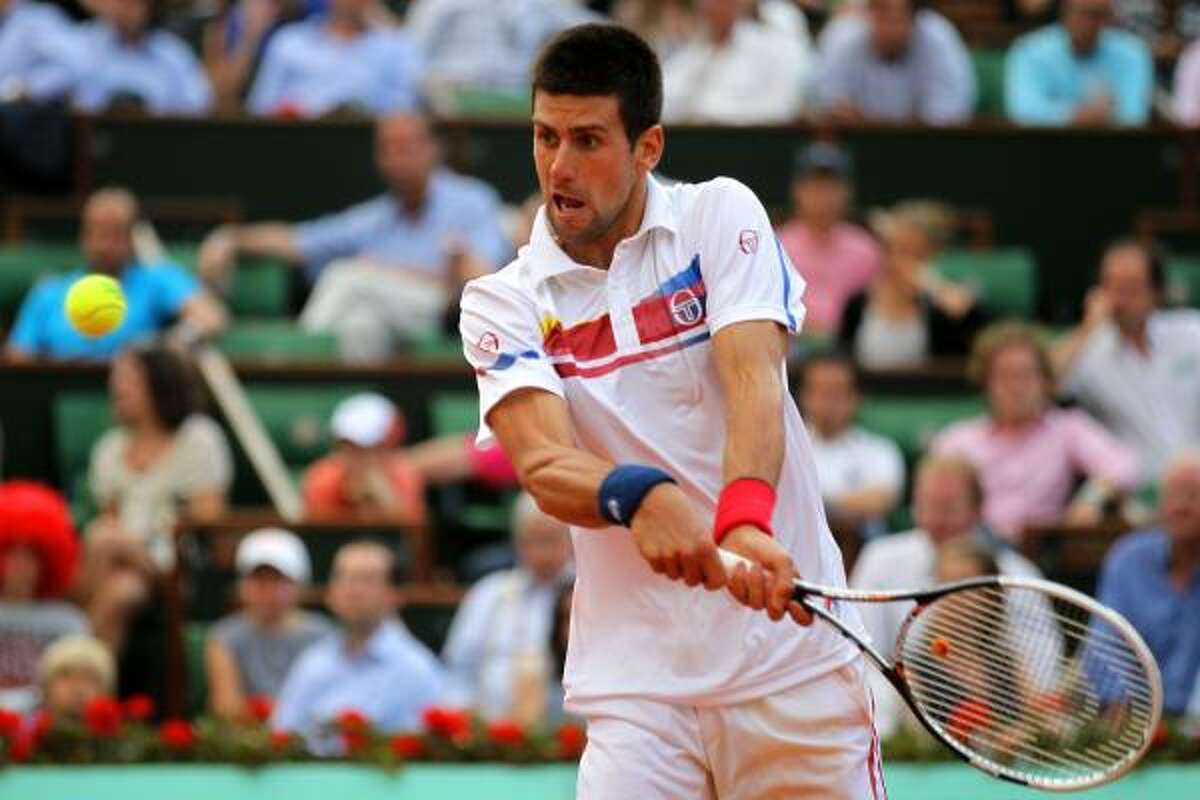 Novak Djokovic had won every tournament in 2011 heading into the French Open, where Roger Federer defeated him in the semi finals.