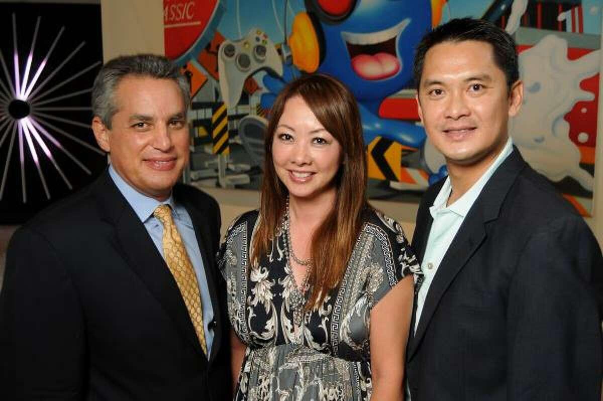 Nick Rivera, Yuki Rogers and Dominic Nguyen