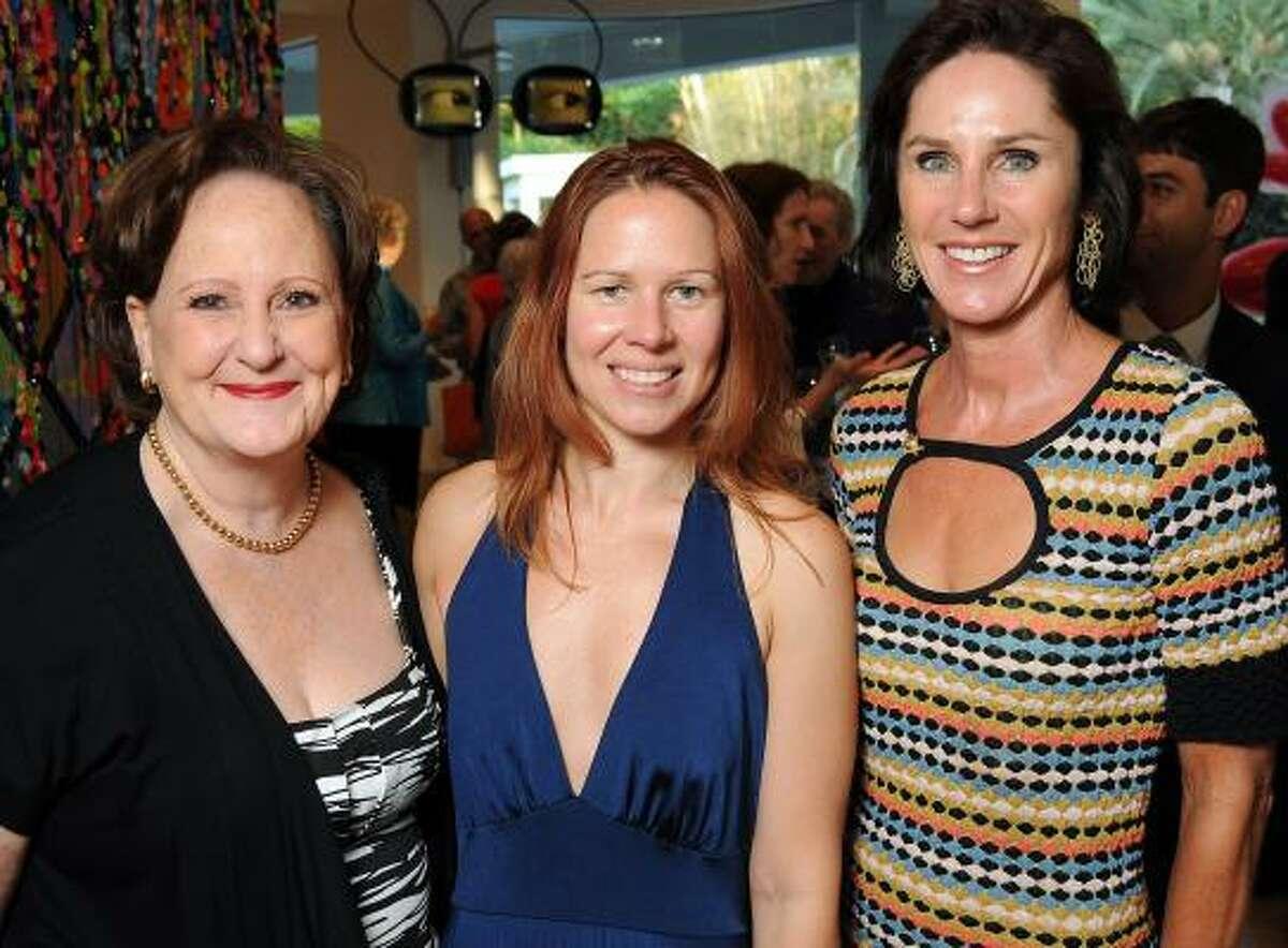 Deborah Dunkum, Tara Conley and Heidi Gerger