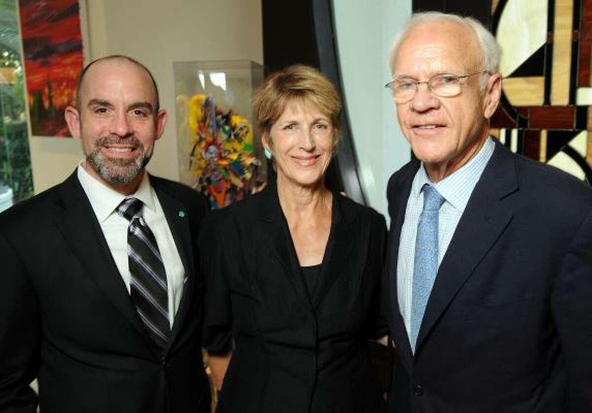 John Bradshaw Jr., Beverly Pennington and Oliver Pennington
