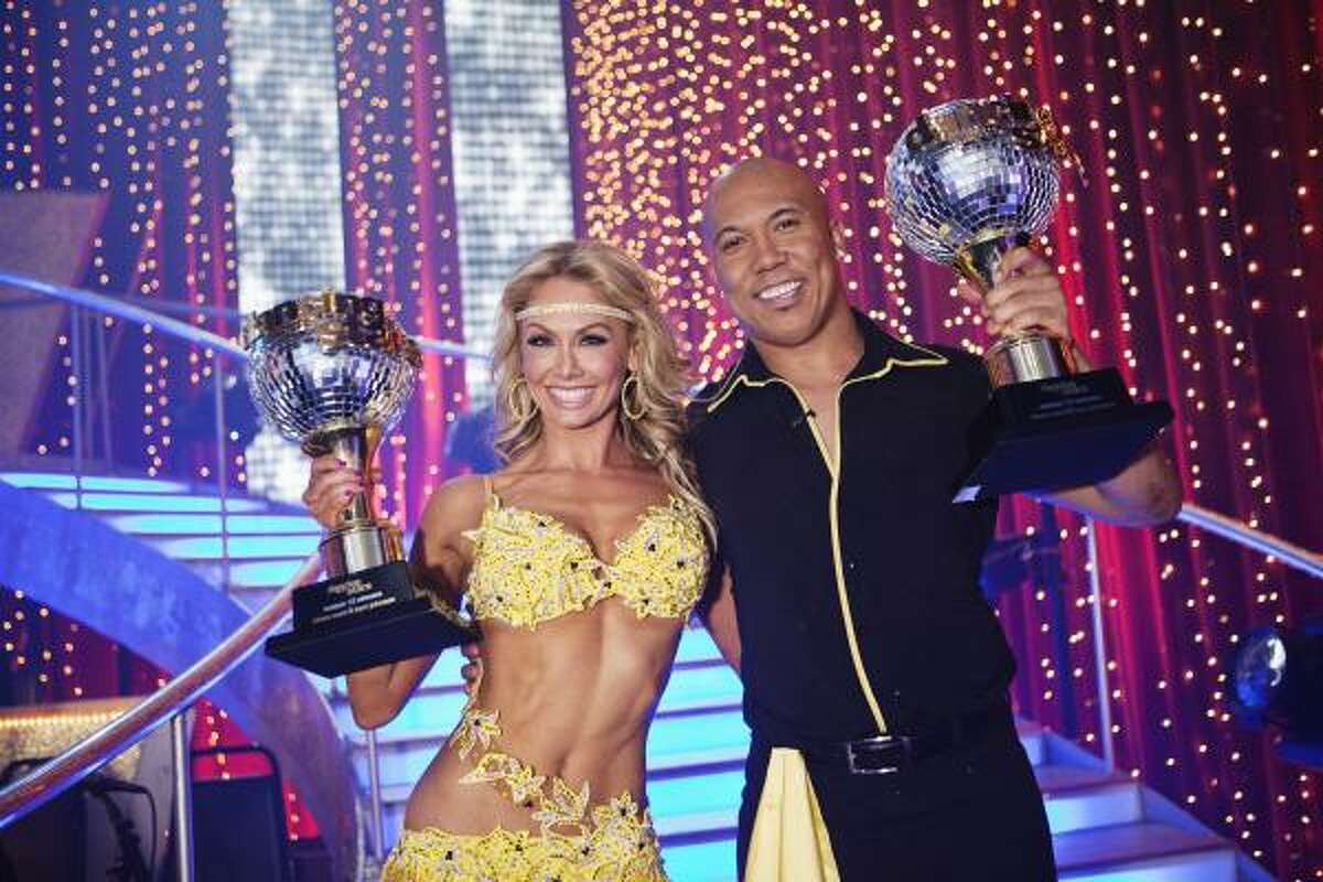 Hines Ward The Pittsburgh Steelers wide receiver and Super Bowl MVP re-asserted dominance by athletes in this show, winning season 12 with his partner, Kim Johnson.