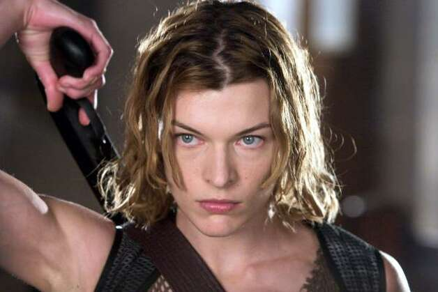 Resident Evil: ApocalypseMilla Jovovich stars as an elite military agent who finds herself stranded in the ruins of Raccoon City folowing a virus outbreak, which has turned the city's inhabitants into bloodthirsty zombies. Photo: ROLF KONOW, AP