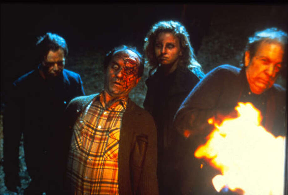 Dawn of the Dead  Flesh-eating zombies form an undead army and threaten survivors of the plague.