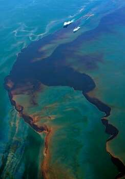 The oil spill