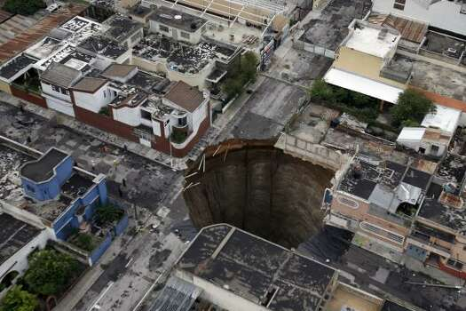 Sinkholes
