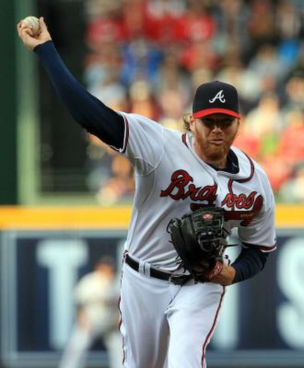 May 16: Braves 3, Astros 2 Tommy Hanson brings the fire in the first inning against the Astros.