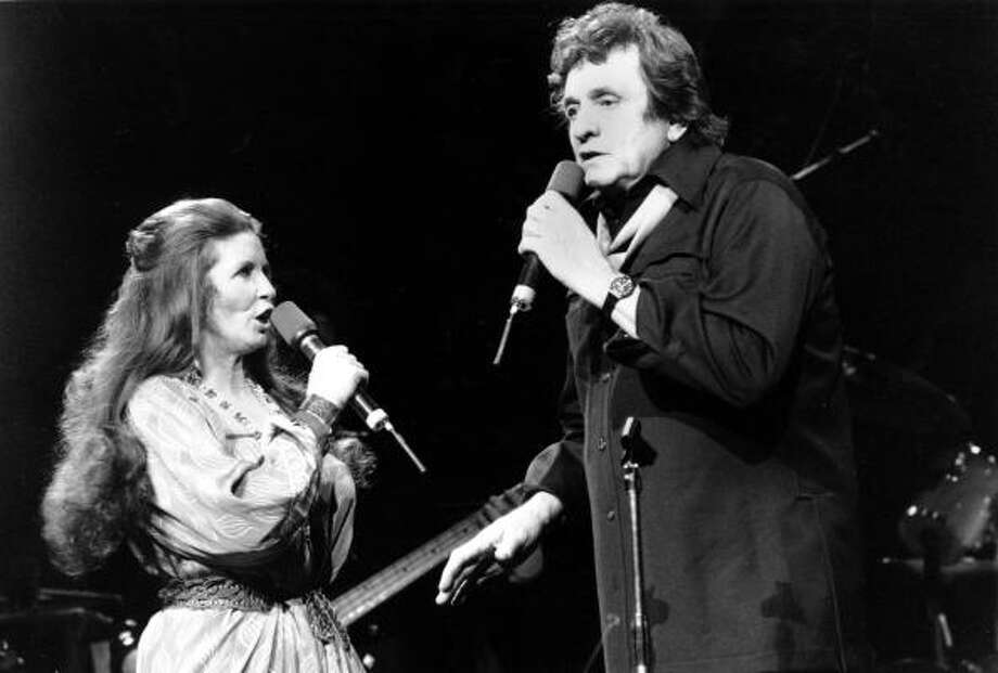 Country music was a family tradition for the Grammy-winning greats Johnny Cash and June Carter Cash. Photo: RON FREHM, AP