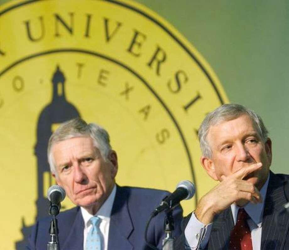 McLane also served as Baylor University regent chairman. He is an alumnus of the school in Waco. Photo: ROD AYDELOTTE, AP