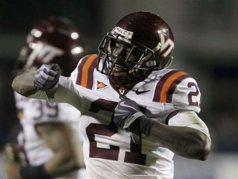 4. Rashad Carmichael, CB, Virginia Tech (fourth round, 127th overall)