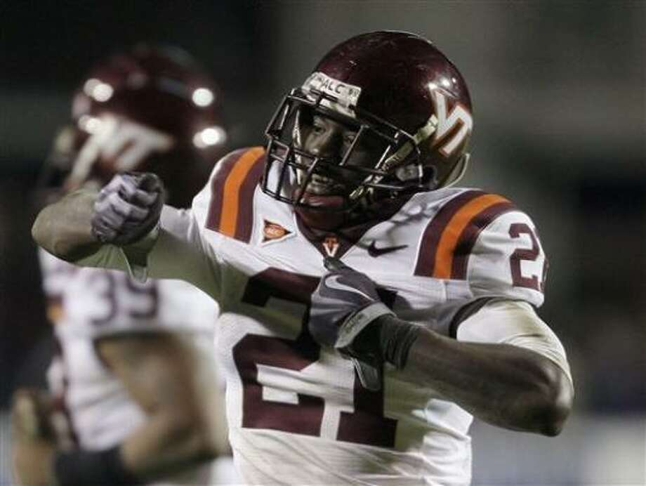 4. Rashad Carmichael, CB, Virginia Tech (fourth round, 127th overall) Photo: Gerry Broome, AP