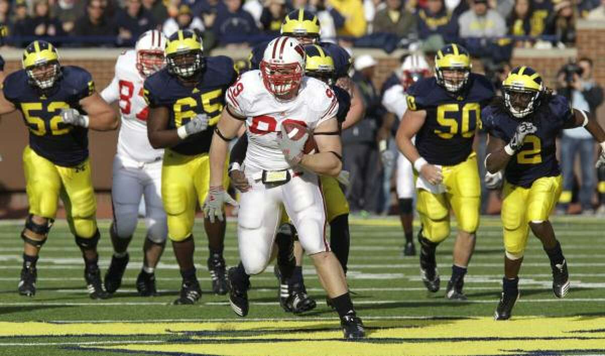 Watt, a Pewaukee, Wisc., native, started his college career at Central Michigan, where he was a tight end. He redshirted at Wisconsin in 2008, when he was named the defensive scout team player of the year. He was a walk-on his first year at Wisconsin and had to earn a scholarship.