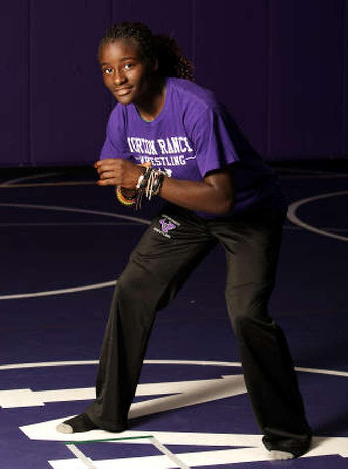 Girls Wrestling MVP Tamyra Mensah Morton Ranch  Photo: Bob Levey, For The Chronicle